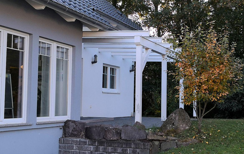 Terrasse Ausstellungshaus Bad Vilbel