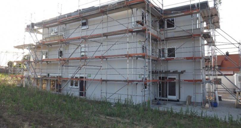 Mehrfamilienhaus mit sechs Parteien