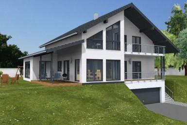 Schäfer Fertighaus Einfamilienhaus 228-125-38
