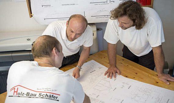 Architekten bei Schäfer Fertighaus