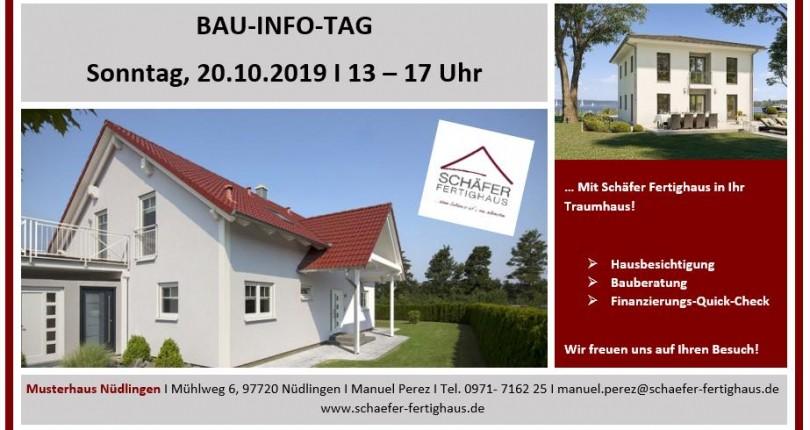 Am 20. Oktober dreht sich in Nüdlingen alles um die Baufinanzierung – und Sie sind eingeladen!