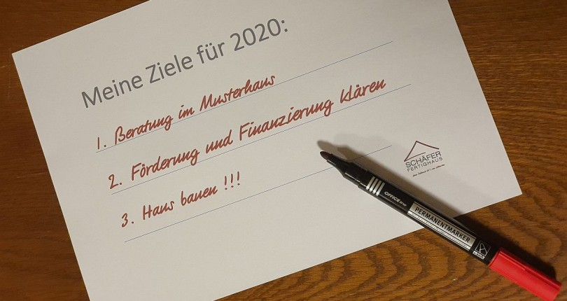 Drei gute Vorsätze für das neue Jahr 2020