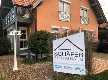 Schäfer Fertighaus Ausstellungshaus Vörstetten