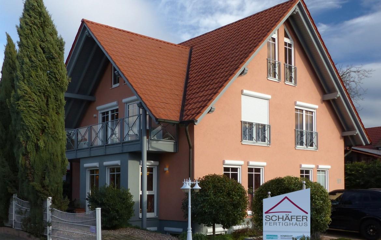 Schäfer Fertighaus Musterhaus Vörstetten