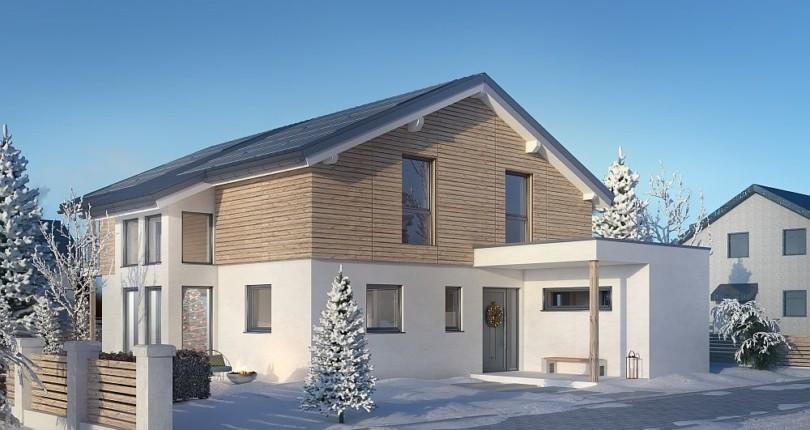 Individuell geplantes Kundenhaus: Das Einfamilienhaus 181-22-190 in der Vorstellung