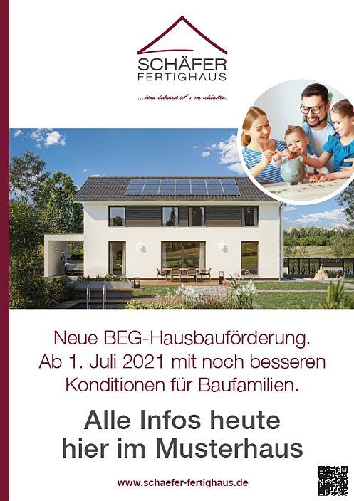 Beratung BEG-Hausbauförderung bei Schäfer Fertighaus